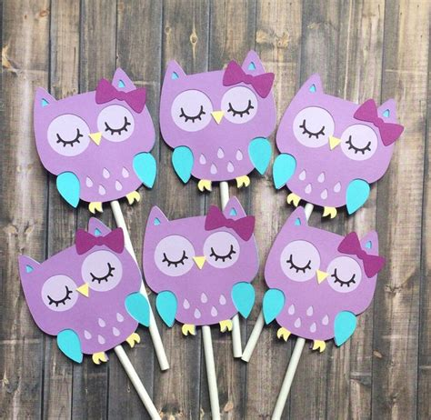 Purple Owl Baby Shower Decorations by 17 Best Ideas About Owl Decorations On