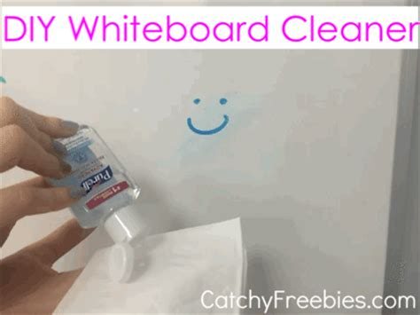 diy whiteboard cleaner 5 sanitizer hacks you need in your catchyfreebies