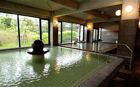 japanese bath house interior video