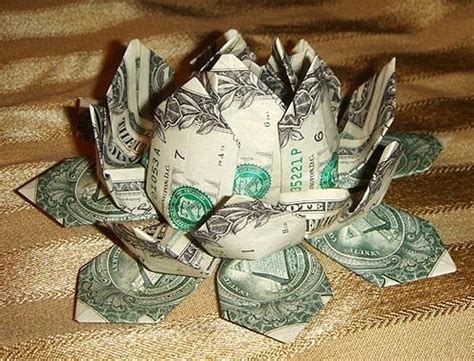 How To Make A Money Origami - money origami flower edition 10 different ways to fold a