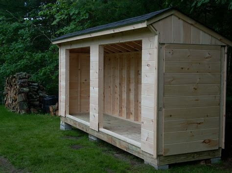 firewood storage shed to keep and organize your firewood