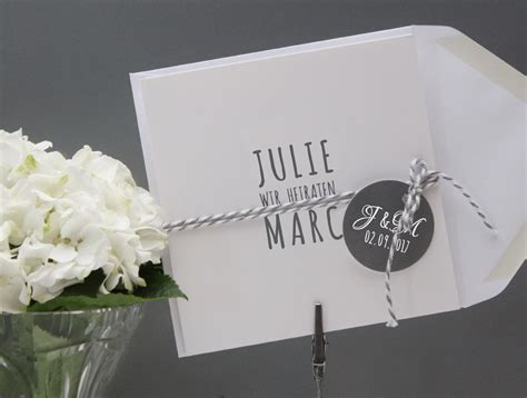 Hochzeitskarten Einladung Edel by Www 1001 Idee De Hochzeit