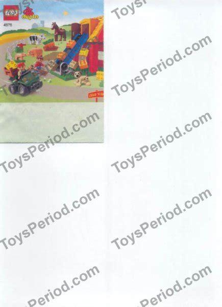 Lego Farm 4975 lego 4975 farm set parts inventory and lego