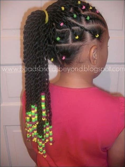 girl hairstyles with beads beads braids beyond hair beads hair bows little
