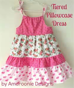 pillowcase dress template ameroonie designs tiered pillowcase dress