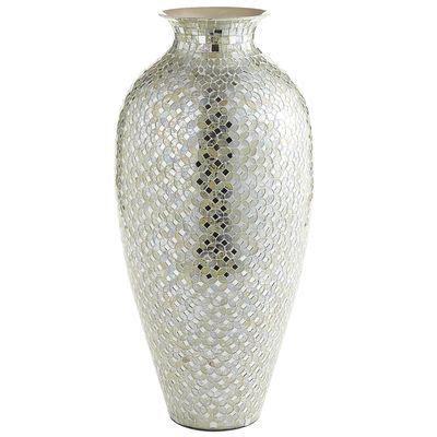 white silver mosaic vase pier 1 home decor