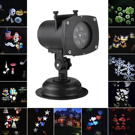 pattern led christmas lights outdoor lighting decoration halloween christmas projector