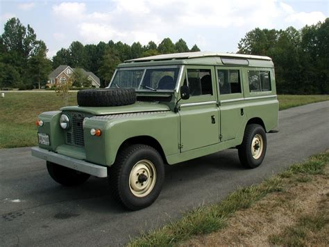 land rover series ii automotive database land rover series ii