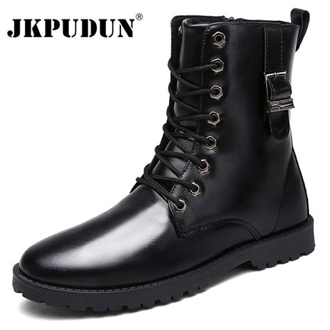 fashion combat boots mens cheap fashion combat boots for tsaa heel