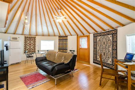 airbnb yurt best airbnb vacation rentals in the west sunset
