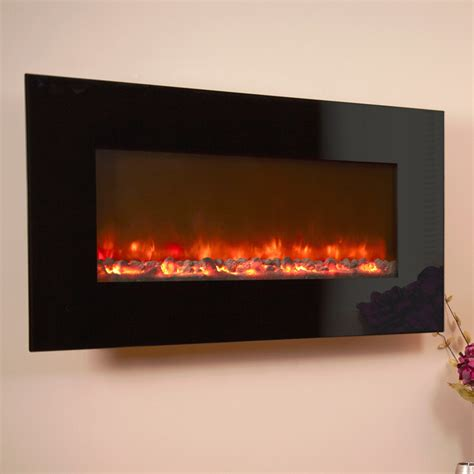 celsi electriflame black glass electric fireplaces