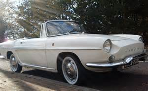 Motor Cars Me And My Classic Motor 1964 Renault Caravelle Cabriolet