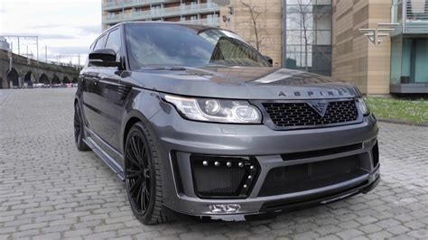 range rover modified aspire custom bespoke modified range rover 2017