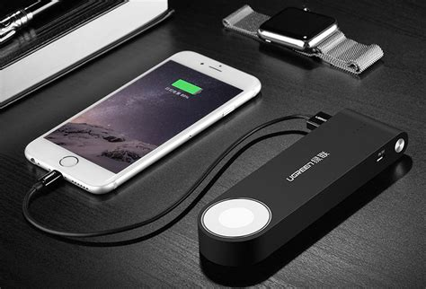 brilliant portable battery  charge  iphone