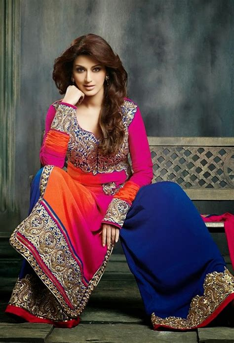 atsonalibendre beautiful  colorful desi gharara