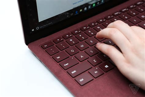 on laptop microsoft surface laptop with windows 10 pro review the