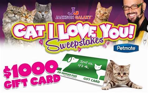 I Love Sweepstakes - petsuppliesplus com cat i love you sweepstakes sweepstakesbible