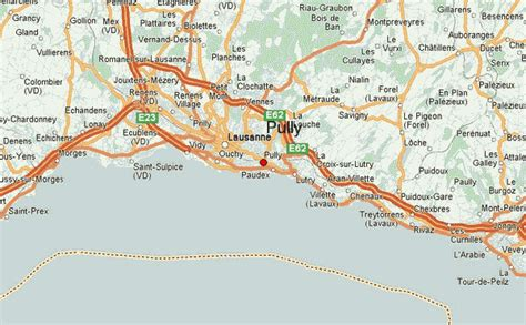 lausanne city map pully map and pully satellite image