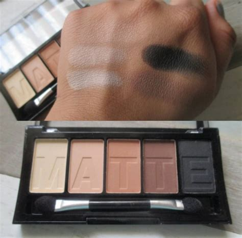 La Matte Eyeshadow Palette Brown Tweed reader swatches new l a colors broadway colors matte