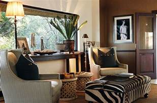 Decorating With A Safari Theme 16 Wild Ideas Bamboo Living Room