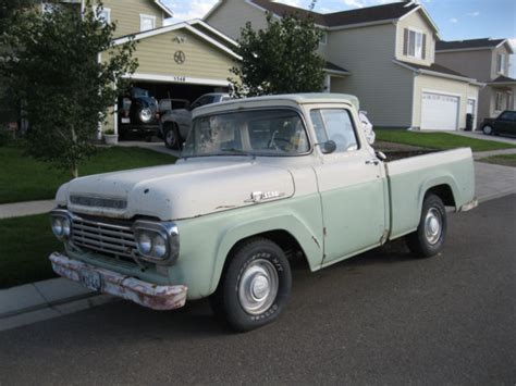 1959 ford f100 wide window classic truck for sale in