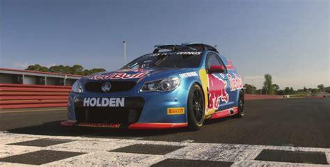 holden sandman v8 supercars hits the track gm authority