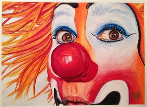 clown paint watercolor clown 10 payaso kiruz bazo the of patty
