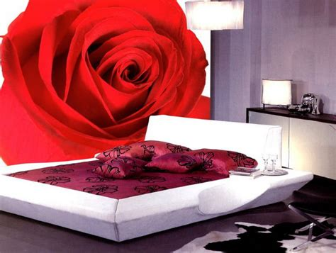 rose bedroom decorating ideas rose bedroom wall mural decal design ideas