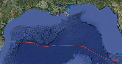 Gulf Of Mexico Continental Shelf by Fwc Maps Spill Bureau Of Energy