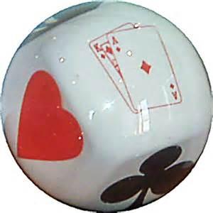 Poker clear custom bowling ball gt 122 95