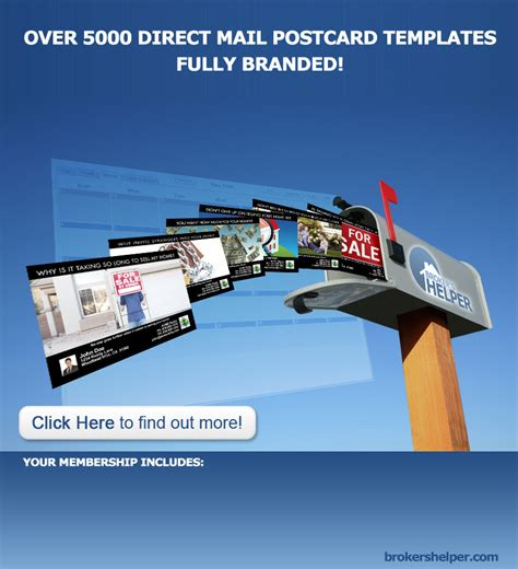 direct mail postcard templates real estate postcard templates