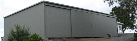 Sheds Gippsland by Home Jumbunna Engineering Steel Fabricators Korumburra