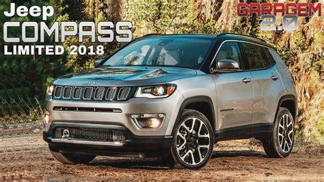 jeep compass limited jeep compass limited diesel 2018 em detalhes garagem 2