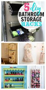 Cheap Bathroom Organization Ideas 5 Cheap Diy Bathroom Storage Ideas