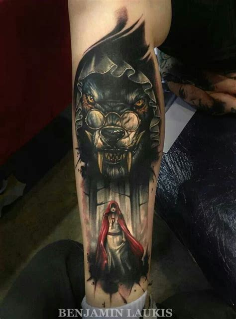 red riding hood tattoo tattoos cool tattoos repined from