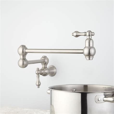polished nickel kitchen faucets the polished nickel kitchen faucet the homy design