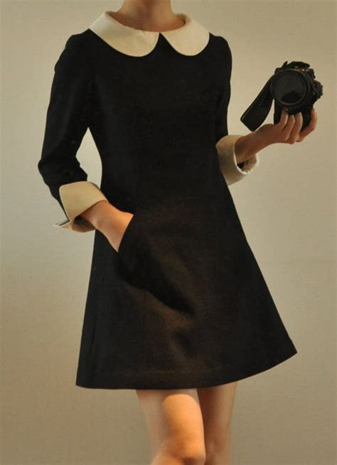 Get Mod Chic To Rival The 60s Pin Ups by Best 25 Collar Dress Ideas On Pan
