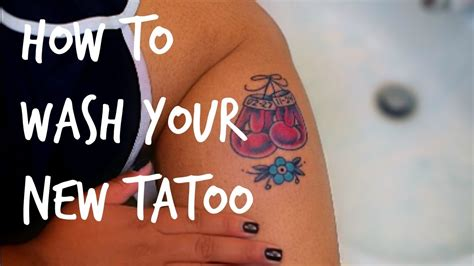 how to wash tattoo how to wash your new v e g a n