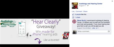Wpsd Giveaways - hearing aid sweeps delivers 164 qualified leads to audiology center second street lab