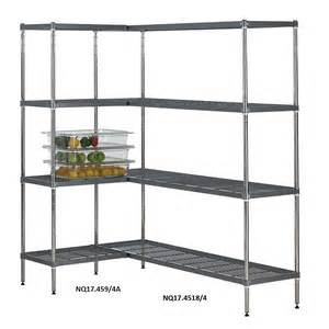 wire bookshelves quartermaster airdeck wire shelving bays with 4 shelves