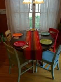 Kitchen Table Colors Painted Kitchen Table And Chairs Chelsea S Thingys