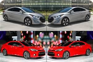 benim otomobilim 2014 hyundai elantra vs 2014 kia forte