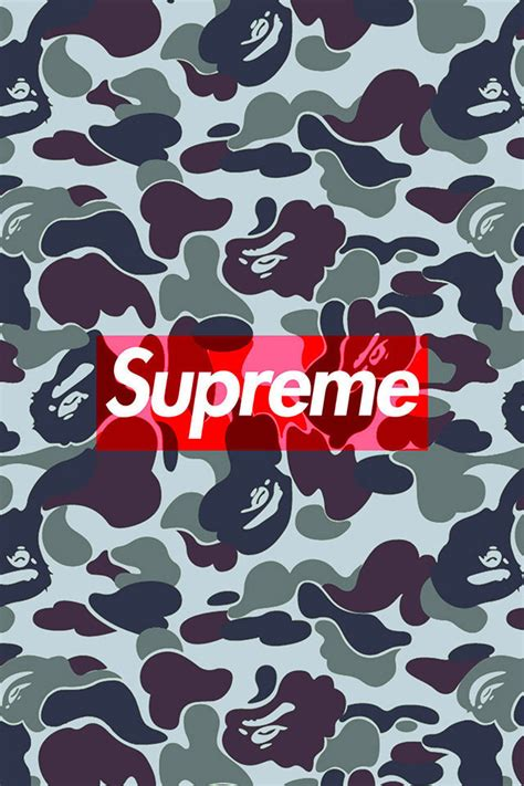 Bape Wallpaper Iphone Iphone All Hp bape camo supreme wallpaper wallpapers supreme f supreme wallpaper