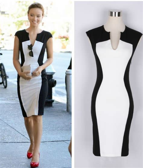 Summer 2014 Fashion Sleeveless Dress Women's Black And