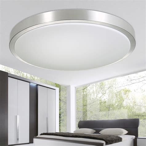 Round Modern Living Ls Lighting Fixtures Luces Del Led Kitchen Ceiling Lights