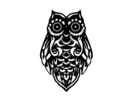 gambar tribal pattern owl 17 best images about the art of ink on pinterest white