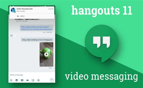 what is hangouts on android update chat changes hangouts 11 for android finally adds support for messaging