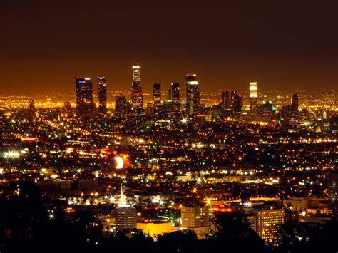 Los Angeles Los Angeles Skyline Mulholland Drive Best Lights Los Angeles
