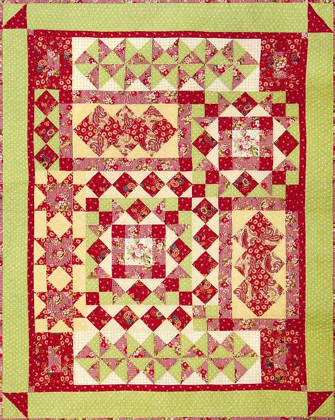 Patchwork Web - happy daze quilt patchwork bliss web patchwork bliss