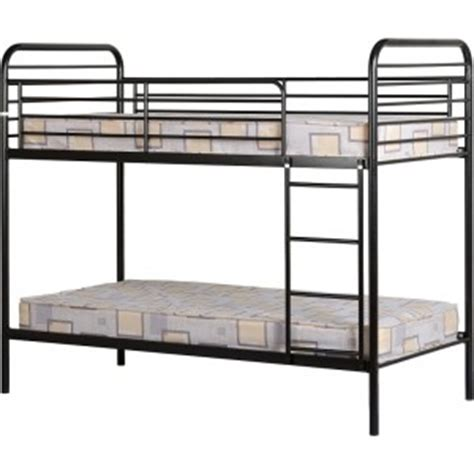 Bunk Beds Metal Frame by Cheap Seconique Bradley Black Metal Bunk Bed Frame For